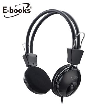 E-books SS31翻轉伸縮頭戴式耳機麥克風