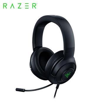 Razer Kraken V3 X北海巨妖黑耳機麥克風