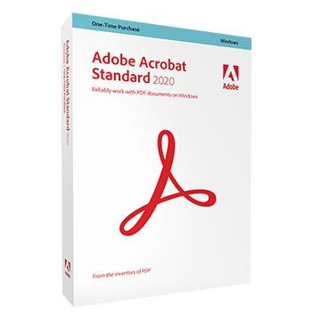 Adobe Acrobat Standard 2020中文盒裝版