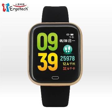 人因MWB239VK心率智慧監測運動手錶 黑-具血氧飽和度偵測功能