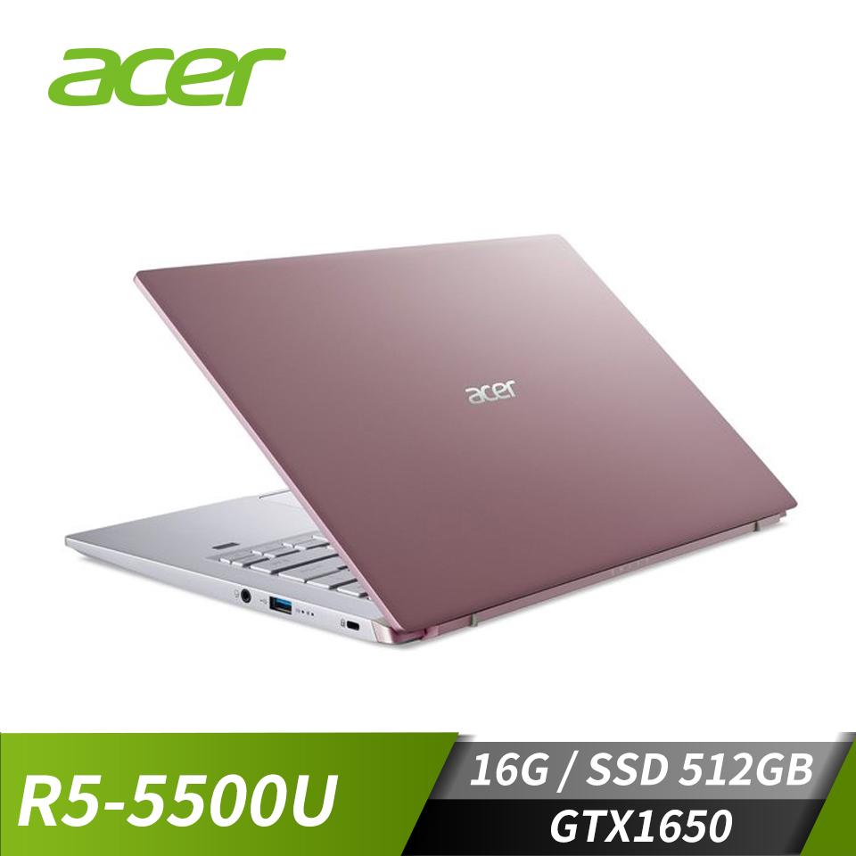 """宏碁 ACER Swift 筆記型電腦 14""""(R5-5500U/16GB/512GB/GTX1650-4G/W10)"""
