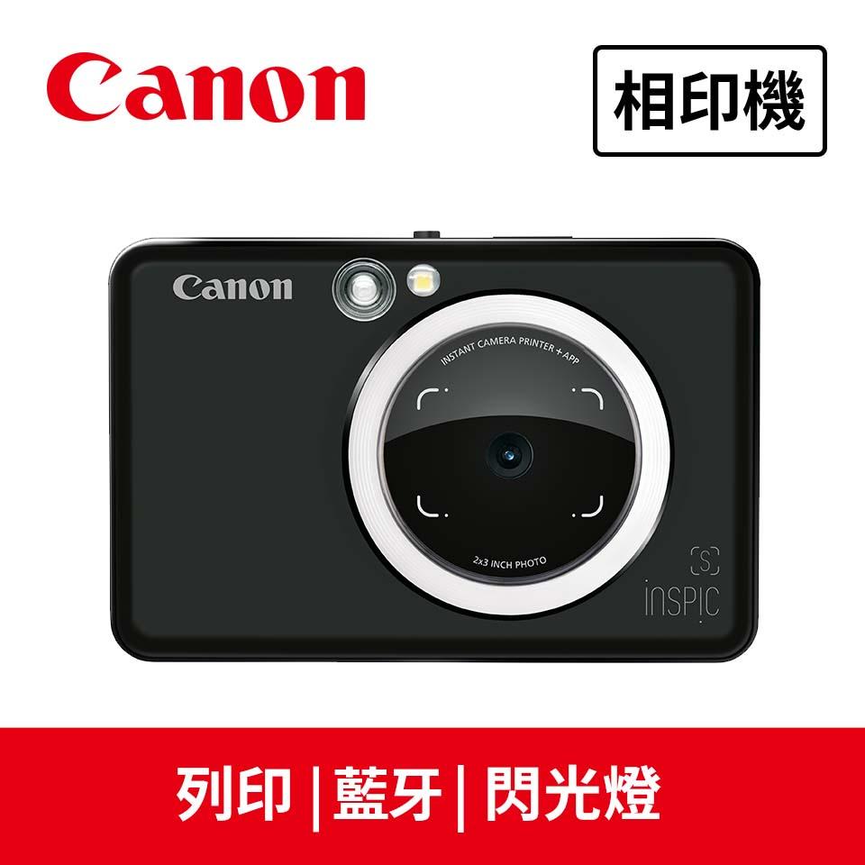 佳能Canon ZV-123A 藍芽拍可印相機 消光黑