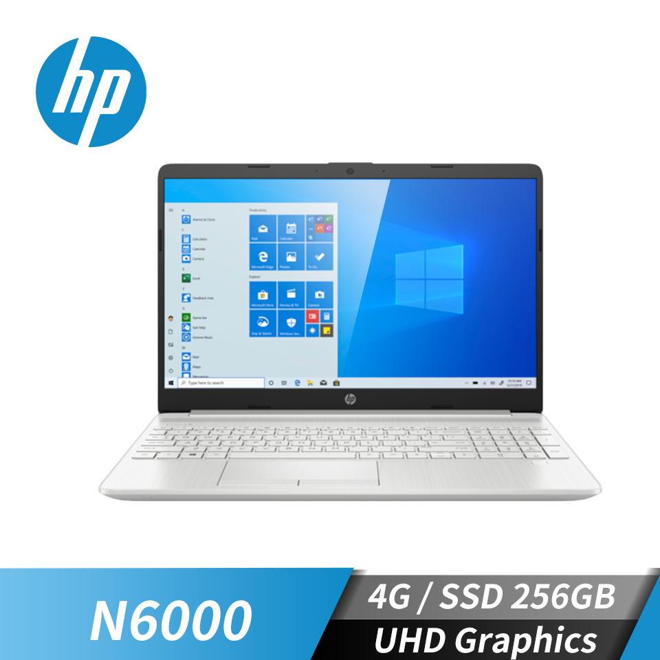 "惠普 HP 15S 筆記型電腦 15.6"" (N6000/4GB/256GB/UHD/W10)星河銀"