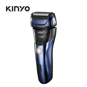 KINYO 三刀頭往復式水洗刮鬍刀