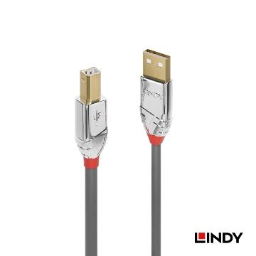 LINDY USB2.0 A公 to B公傳輸線-1M