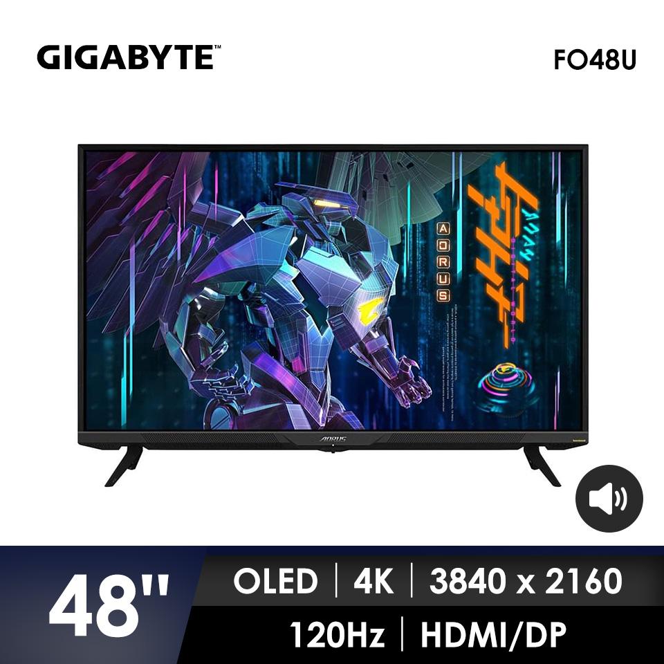 AORUS FO48U 48型 OLED HDR 真4K電競螢幕