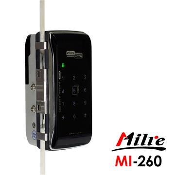 Milre美樂玻璃門專用電子鎖(MI-260)