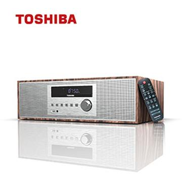 TOSHIBA 復古風CD藍牙床頭音響