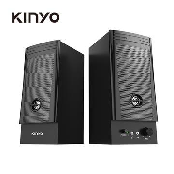 KINYO 二件式木質立體音箱