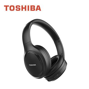 TOSHIBA 主動式降噪無線藍牙耳罩式耳機