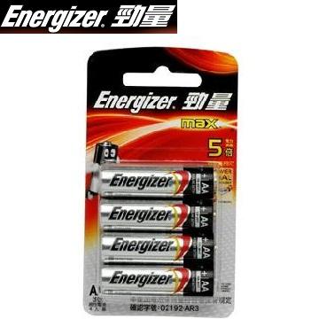勁量鹼性電池3號4入 B-E91BP4
