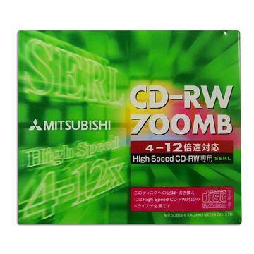 三菱12X CD-RW單片盒裝