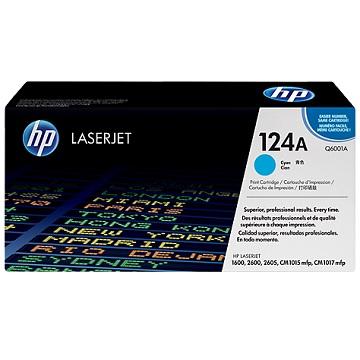 HP 124A 青藍色原廠碳粉匣