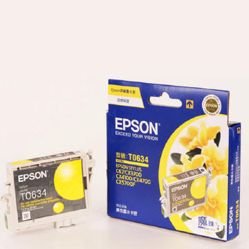 EPSON T063 黃色墨水匣