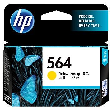 惠普HP 564 黃色墨水匣