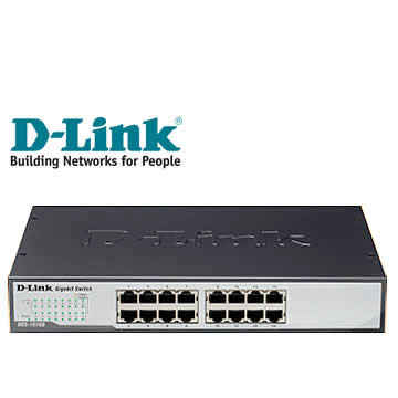 D-Link 節能交換式集線器
