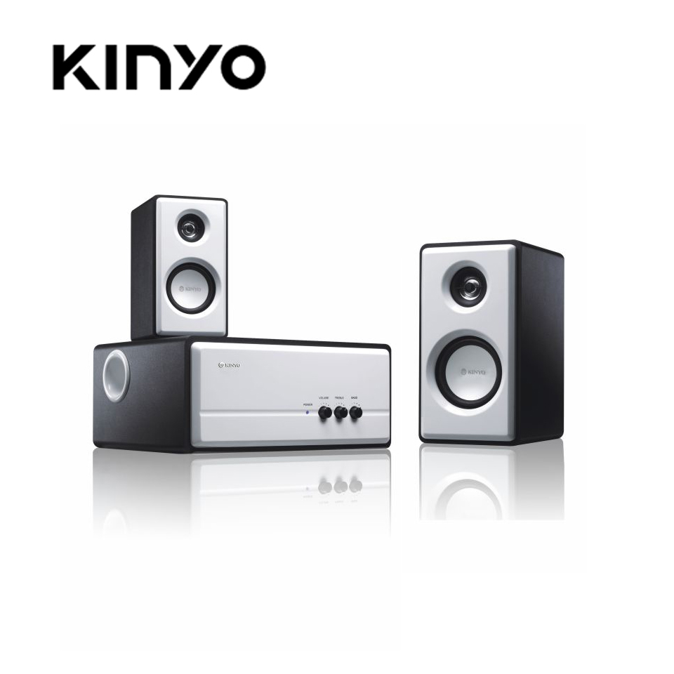 KINYO 2.1聲道防磁多媒體喇叭KY-670