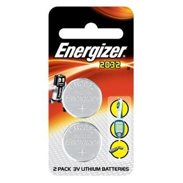勁量鈕扣型鋰電池2032二入