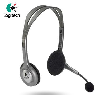 【福利品】羅技 H110 頭戴式耳機麥克風