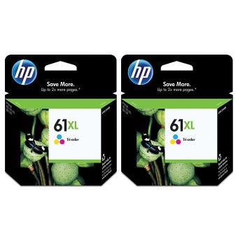 【兩入88折】HP 61號XL彩色墨水匣