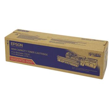 EPSON 0555紅色高容量碳粉匣