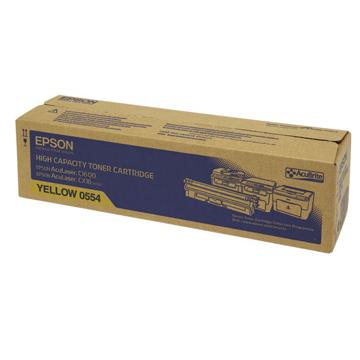 EPSON 0554黃色高容量碳粉匣