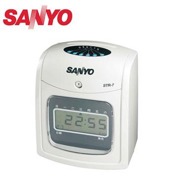 三洋SANYO 液晶打卡鐘