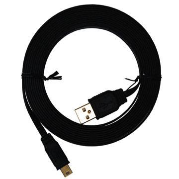i-gota超薄型USB2.0連接線-A公對Mini5P-3M
