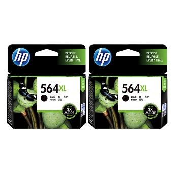 【兩入88折】HP 564XL 高容量黑色墨水匣