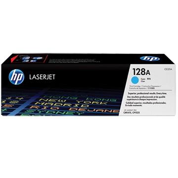 惠普HP 128A 藍色原廠碳粉匣