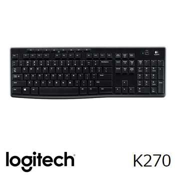 Logitech羅技 K270 無線鍵盤(920-003060)