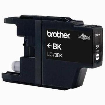 Brother LC-73BK黑色墨水匣