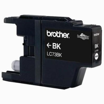 Brother LC-73BK黑色墨水匣