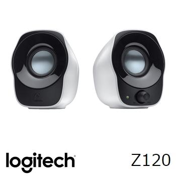 (福利品)Logitech羅技 Z120 USB供電兩件式喇叭音箱