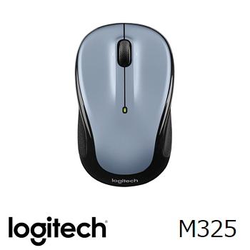 Logitech羅技 M325 無線滑鼠 銀