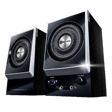 KINYO 二件式木質立體擴大音箱