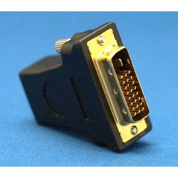 R-driver D-sub(母) 對 DVI-I轉換器