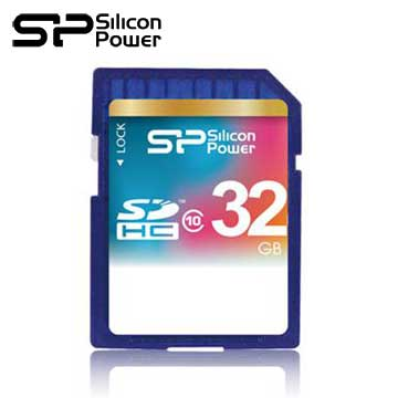 【32G】廣穎 Silicon-Power SDHC C10 SD記憶卡