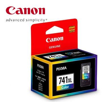 佳能CANON 741XL 高容量彩色墨水匣