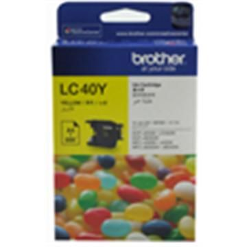 Brother LC-40Y 黃色墨水匣