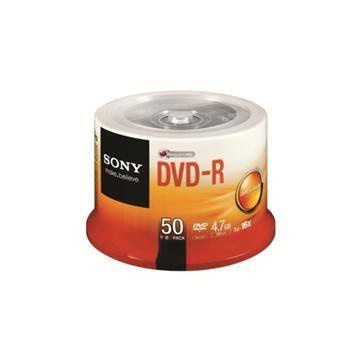 SONY 16X DVD-R/50片桶裝