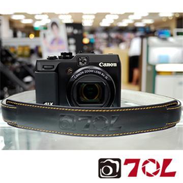 70L SL1601真皮彩色相機背帶-尊爵黑金