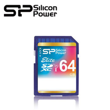 【64G】廣穎 Silicon-Power SDXC UHS-1 C10 SD記憶卡