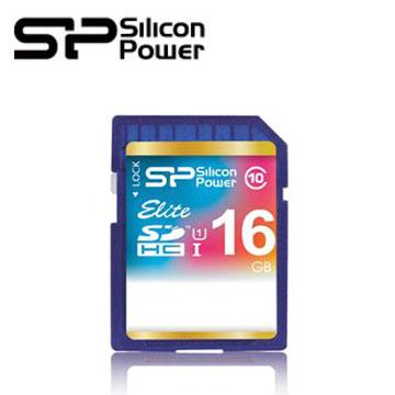 SP廣穎 SDHC UHS-1 C10 SD 16GB 記憶卡