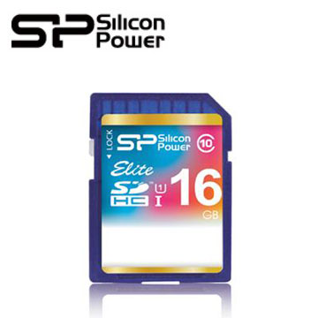 【16G】廣穎 Silicon-Power SDHC UHS-1 /C10 SD記憶卡