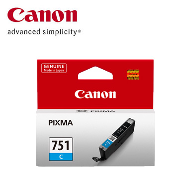 CANON 751 藍色墨水匣