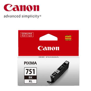 佳能CANON 751XL 大容量相片黑色墨水匣