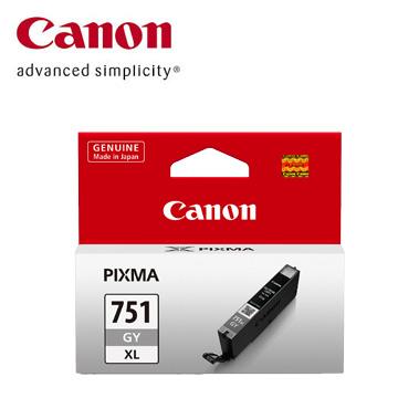 (福利品)佳能CANON 751XL 大容量灰色墨水匣