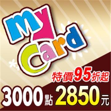 MyCard 3000點