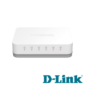 D-Link 5埠Gigabit超高速乙太網路交換器